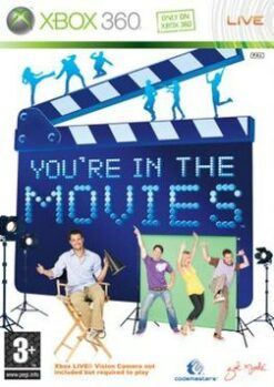 Hra You're In The Movies pro XBOX 360 X360 konzole