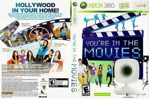 Hra You're In The Movies vč. kamery pro XBOX 360 X360 konzole