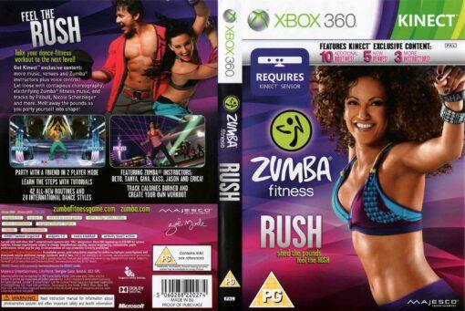 Hra Zumba Fitness: Rush pro XBOX 360 X360 konzole